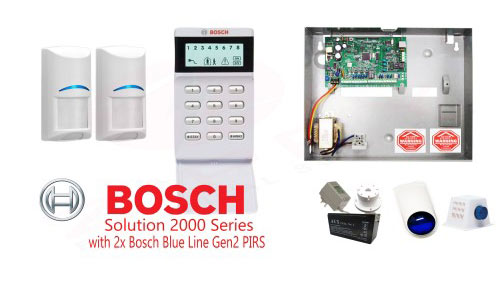 Bosch solution 2000 Series Alarms