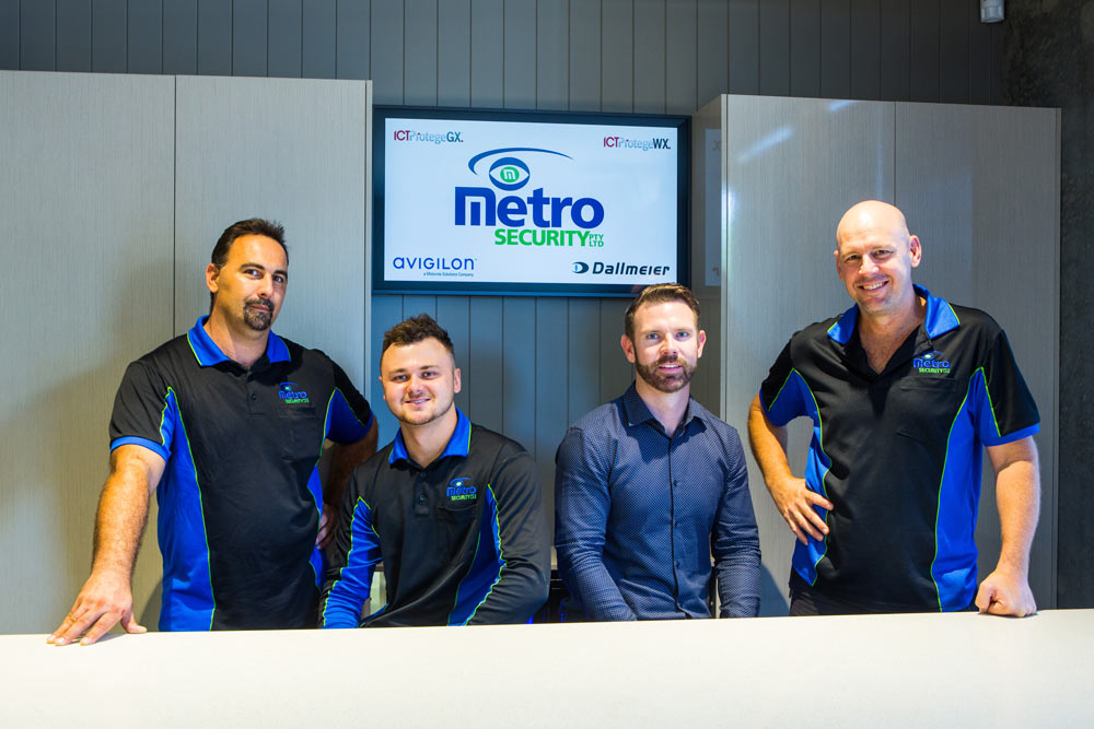 Your metro security team